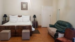 Room 3 - Double bed and Seating Area