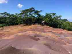Chamarel coloured earth