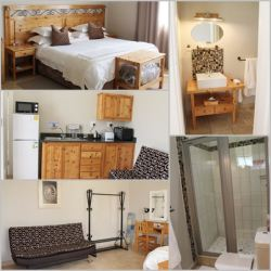Room 16 Self catering Unit with twin/king size bed and extra sleeper couch
