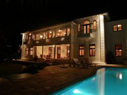 Night View of Villa St James