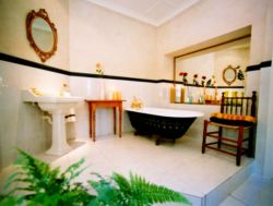 Main Bathroom at villa St James