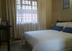 Argief Room: Room with double bed and Small veranda: R600 per night.