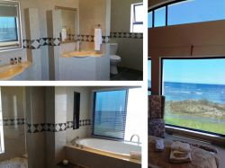 Main bedroom en-suite with stunning ocean views