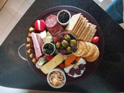 Cheese platter for Special night-out package.