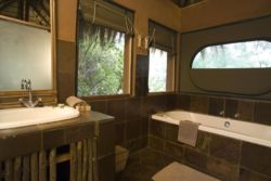Wildside Tented Bathroom