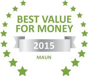 Sleeping-OUT's Guest Satisfaction Award Maun 2015