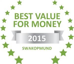 Sleeping-OUT's Guest Satisfaction Award Swakopmund 2015