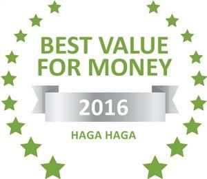Sleeping-OUT's Guest Satisfaction Award Haga Haga 2016