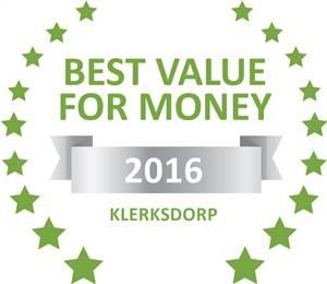 Sleeping-OUT's Guest Satisfaction Award Klerksdorp 2016