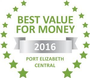 Sleeping-OUT's Guest Satisfaction Award Port Elizabeth Central 2016